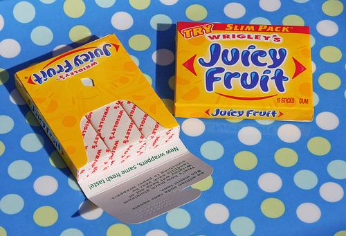 juicyfruit gum