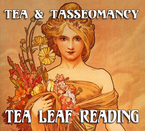 tea and tasseomancy